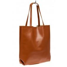 На фото 1 - Набор сумок из искусственной кожи, цвет рыж...