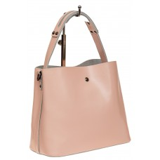 На фото 1 - Женская сумка шоппер из натуральной кожи, ц...