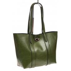 Женская сумка шопер-трапеция из натуральной кожи, оптовые поставки