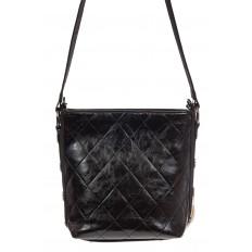 На фото 3 - Женская сумка из натурального меха, шоппер бежевый мультицвет