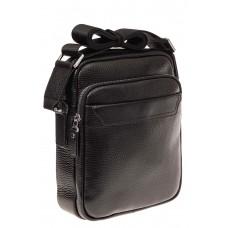 На фото 1 - Мужская сумка из натуральной кожи каскадног...