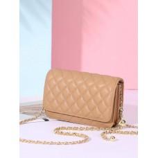 На фото 1 - Женская сумка кросс-боди из натуральной кожи, цвет коричневый