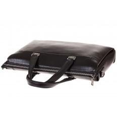 На фото 4 - Строгий портфель из натуральной кожи