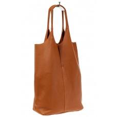 На фото 1 - Сумка женская, мешок из натуральной кожи, ц...