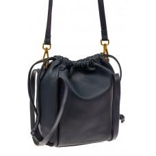 На фото 1 - Сумка женская торба из натуральной кожи, цв...