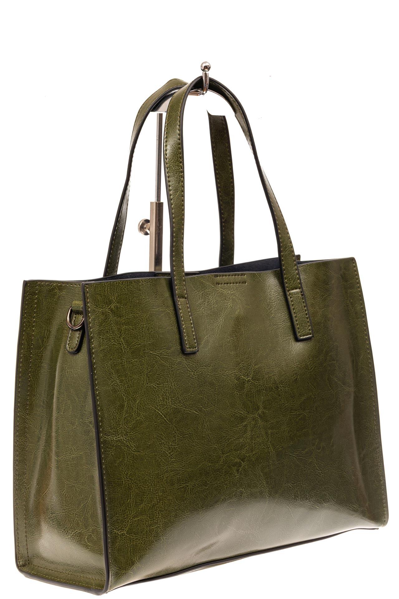 Женская сумка тоут из натуральной кожи, цвет шоколадный910NK0520/6