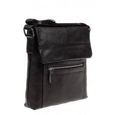 На фото 1 - Мужская сумка под планшет, черная