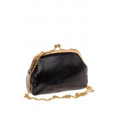 На фото 1 - Небольшая вечерняя сумочка с фермуаром, цве...