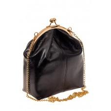 На фото 1 - Женская вечерняя сумочка с фермуаром, цвет ...