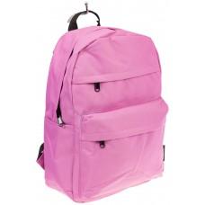 На фото универсальный молодежный рюкзак, цвет – розовый, материал – текстиль, купить оптом в магазине Грета