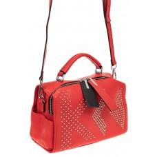 На фото 1 - Мягкая сумка кросс-боди из натуральной кожи...