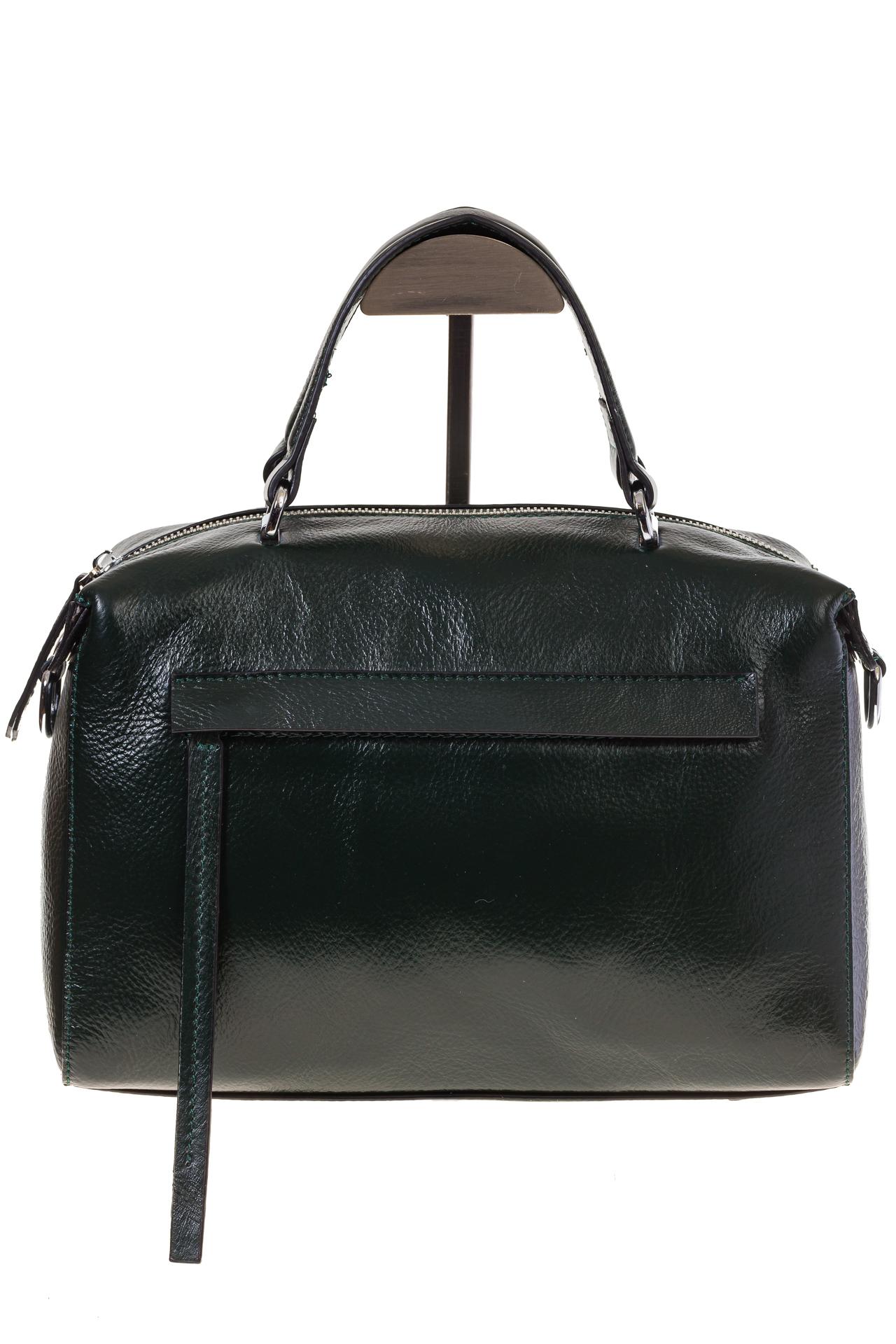 На фото 2 - Boxbag для женщин из натуральной кожи
