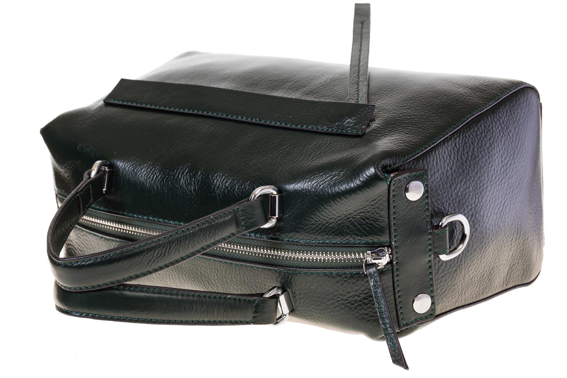 На фото 4 - Boxbag для женщин из натуральной кожи