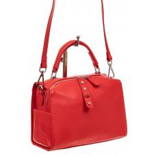 На фото 1 - Мягкая сумка-коробочка из натуральной кожи,...