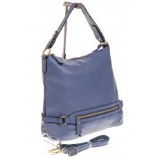 На фото 1 - Женская сумка Хобо из натуральной кожи голу...
