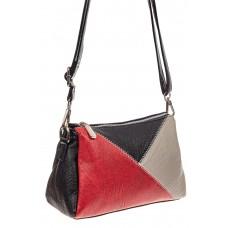 На фото 1 - Базовая женская сумка из искусственной кожи...