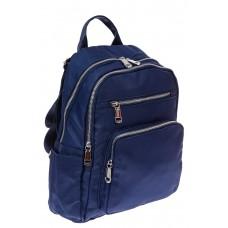 На фото 1 - Текстильный рюкзак для города, цвет синий