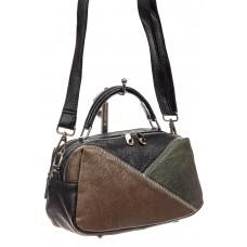 На фото 1 - Женская сумка купол из искусственной кожи, ...