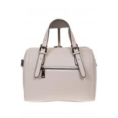 На фото 3 - Белая женская сумка из натуральной кожи 937