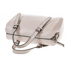 На фото 4 - Белая женская сумка из натуральной кожи 937