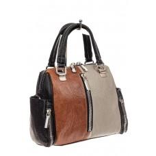На фото 1 - Женская сумка трапеция из искусственной кож...