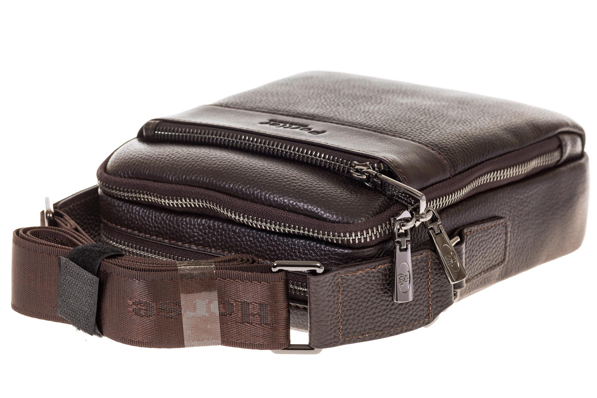 На фото 4 - Мужская сумка из натуральной cow–кожи 9408-2MM5
