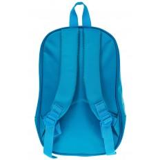 На фото 2 - Детский рюкзак-машинка из текстиля, цвет синий