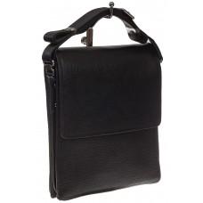 На фото 1 - Мужская сумка мессенджер из натуральной кож...
