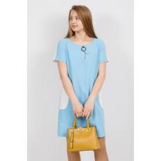 На фото 4 - Классическая женская сумка из искусственной кожи, цвет горчичный