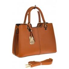 На фото 1 - Женская сумка из искусственной кожи, цвет р...