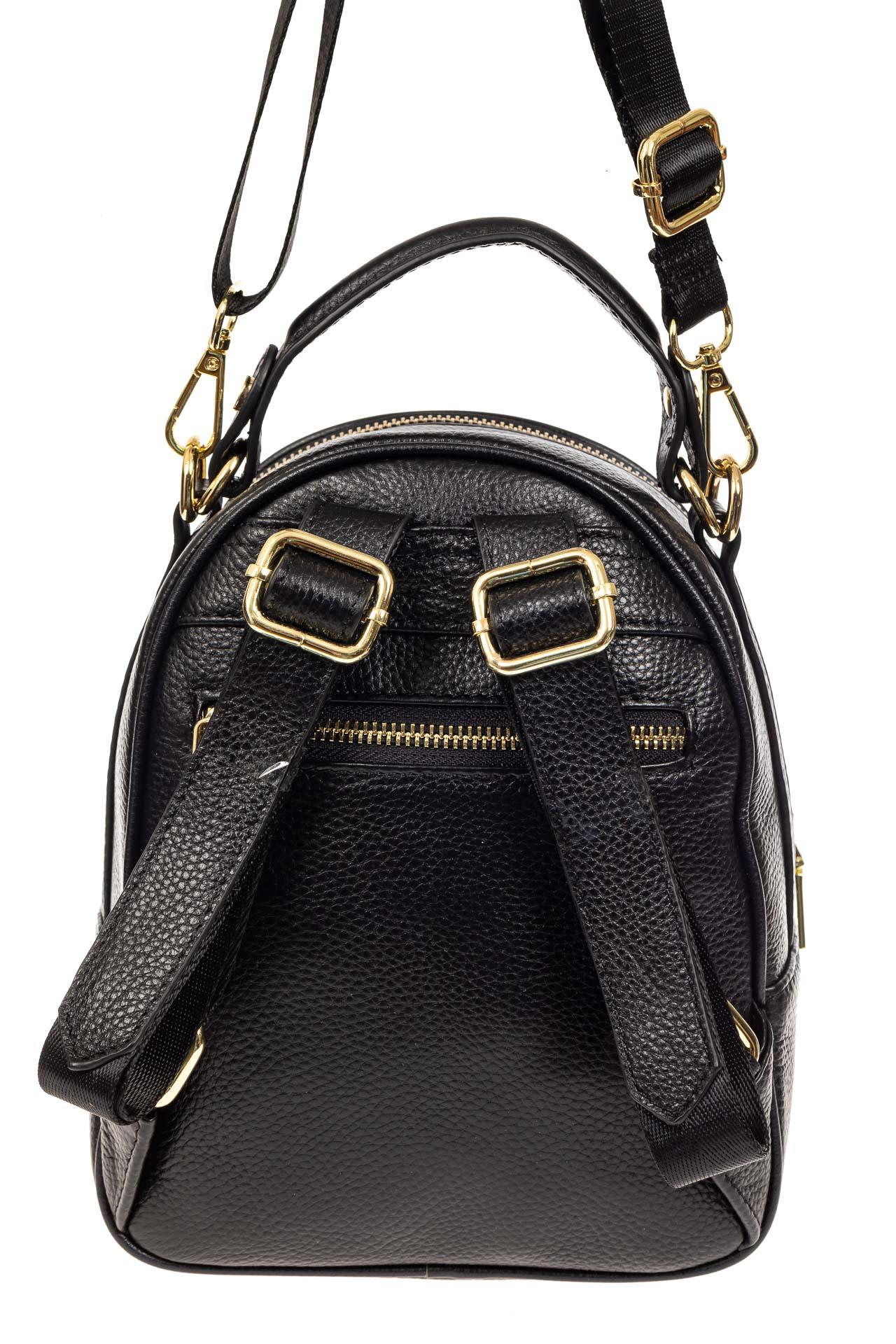 На фото 3 - Рюкзак трансформер, цвет черный
