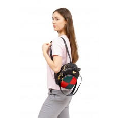 На фото 5 - Рюкзак трансформер, цвет черный
