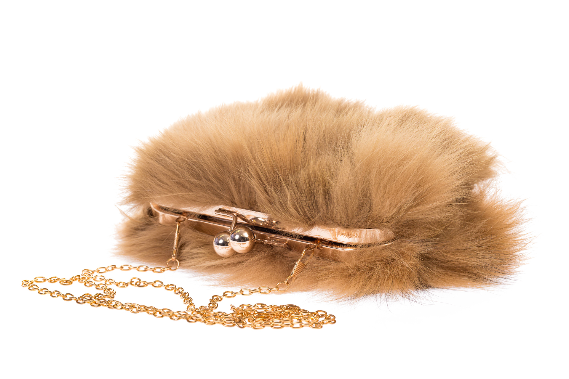 На фото 4 - Сумка из меха лисы