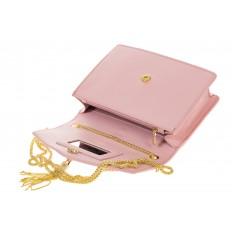 На фото 4 - Розовая кросс-боди из искусственной mf-кожи A115MJ5
