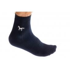 На фото 1 - Носки мужские хлопок, размер 25-28, цвет темно-синий
