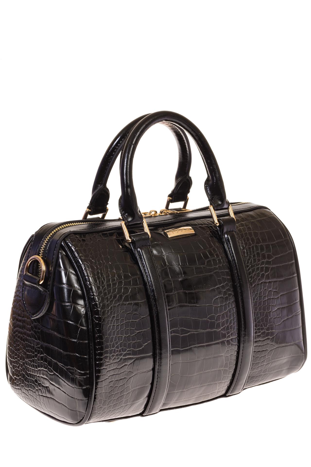 На фото 1 - Structured bag из искусственной кожи