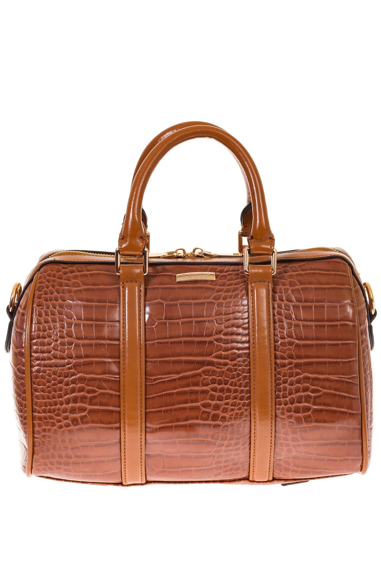 На фото 2 - Structured bag из искусственной кожи
