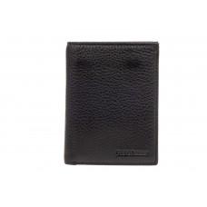 На фото 1 - Небольшое мужское портмоне (кошелек), черный