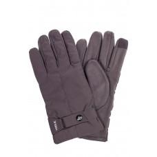 На фото 1 - Утепленные перчатки мужские с Touch Screen, цвет серый