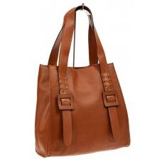На фото 1 - Большая сумка женская из натуральной кожи, ...