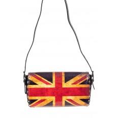 На фото 3 - Женская сумка из кожи, цвет черный