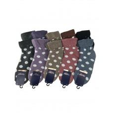 На фото 1 - Женские носки с принтом, 10 пар,