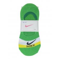 На фото 1 - Спортивные женские следки, цвет зелёный