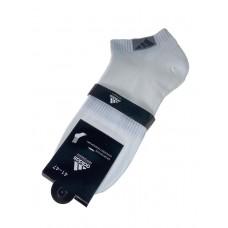 На фото 1 - Короткие спортивные мужские носки, цвет белый