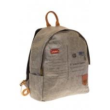 На фото 1 - Светло-серый рюкзак из Nano Kraft BZ052R5