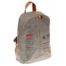 На фото 1 - Эко-рюкзак из материала tyvek, цвет серый