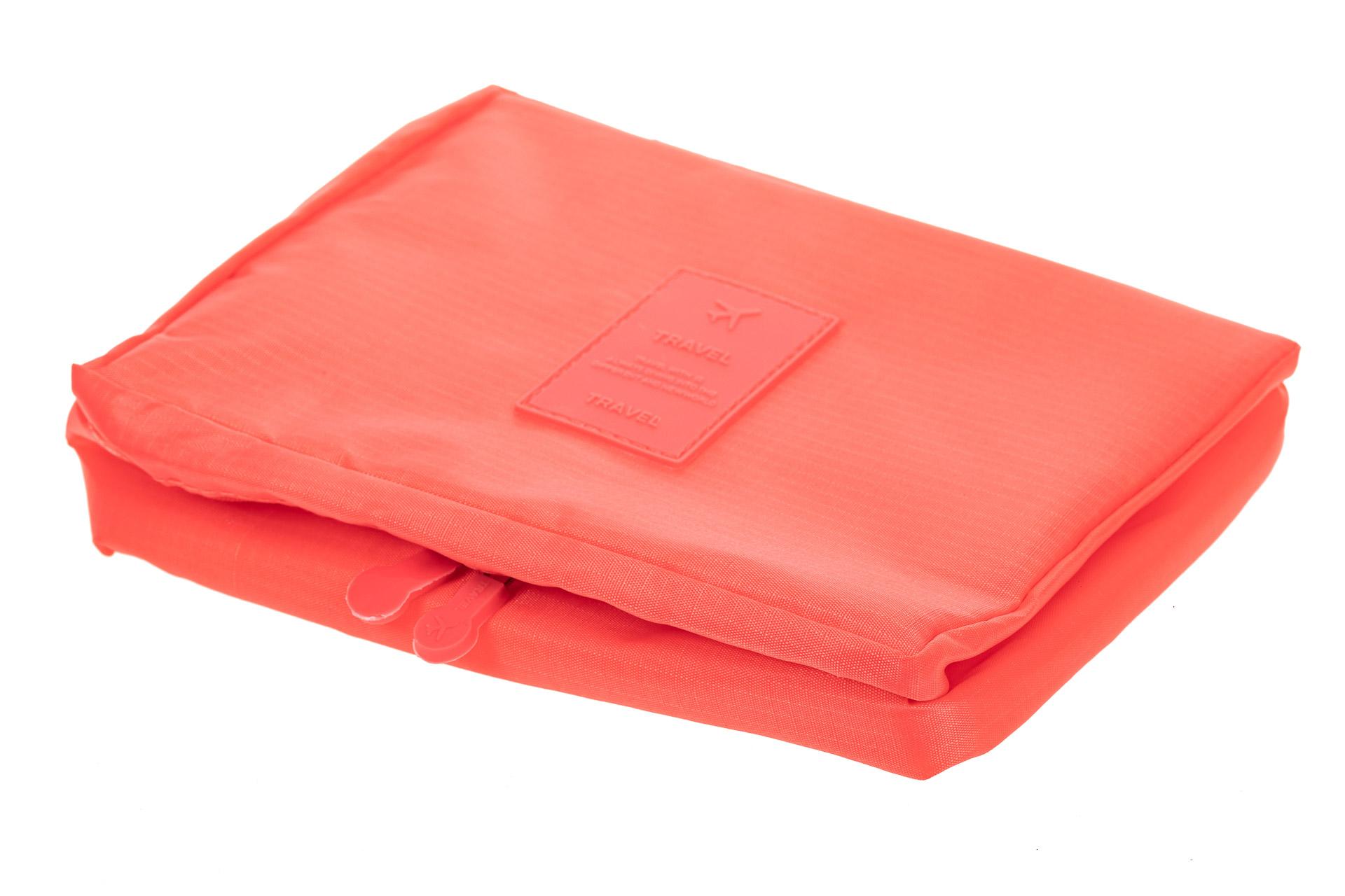 На фото 4 - Дорожная сумка-косметичка multi pouch, цвет розовый