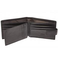 На фото 2 - Мужской классический кошелек из натуральной кожи