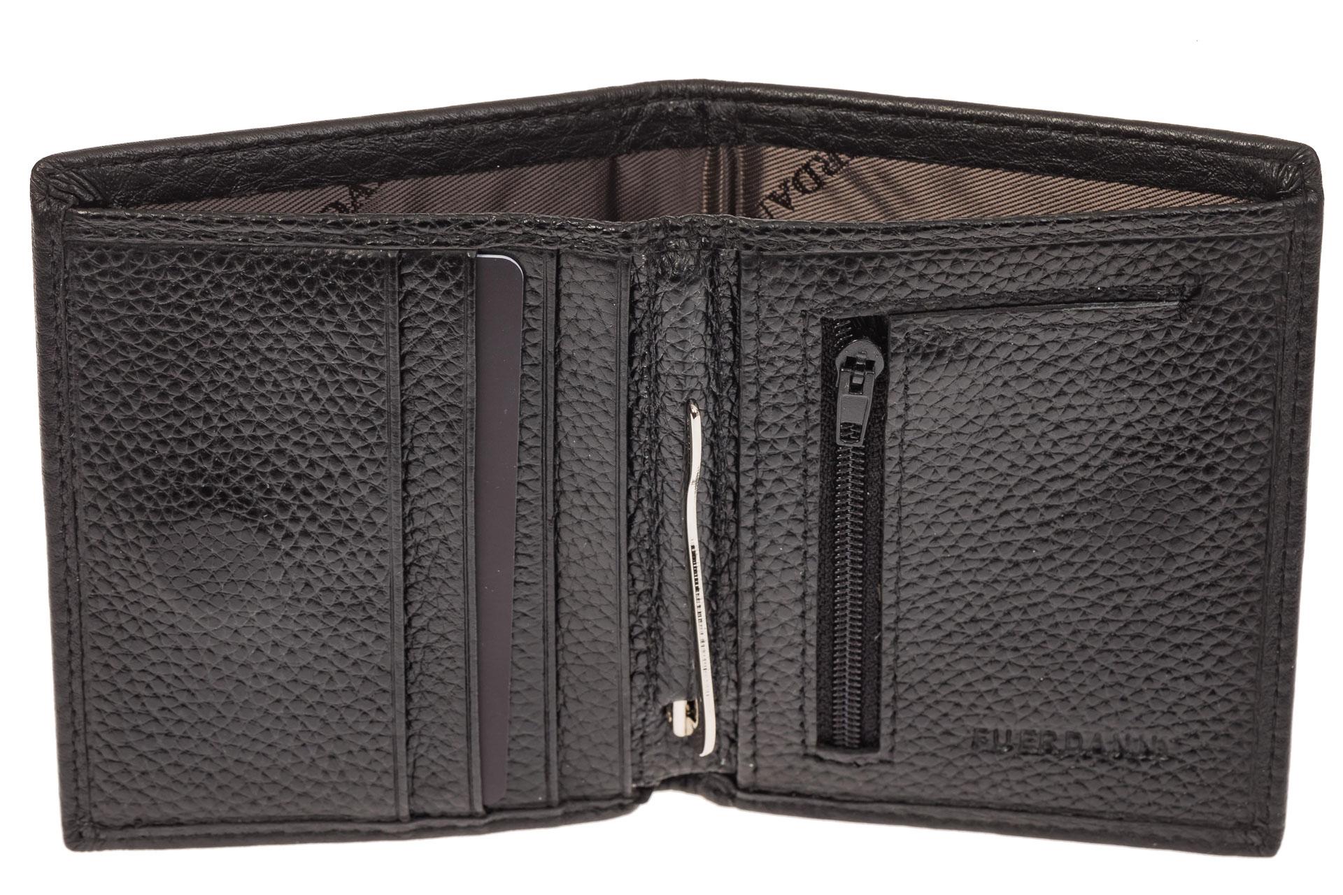 На фото 2 - Мужской кошелек-портмоне из натуральной кожи