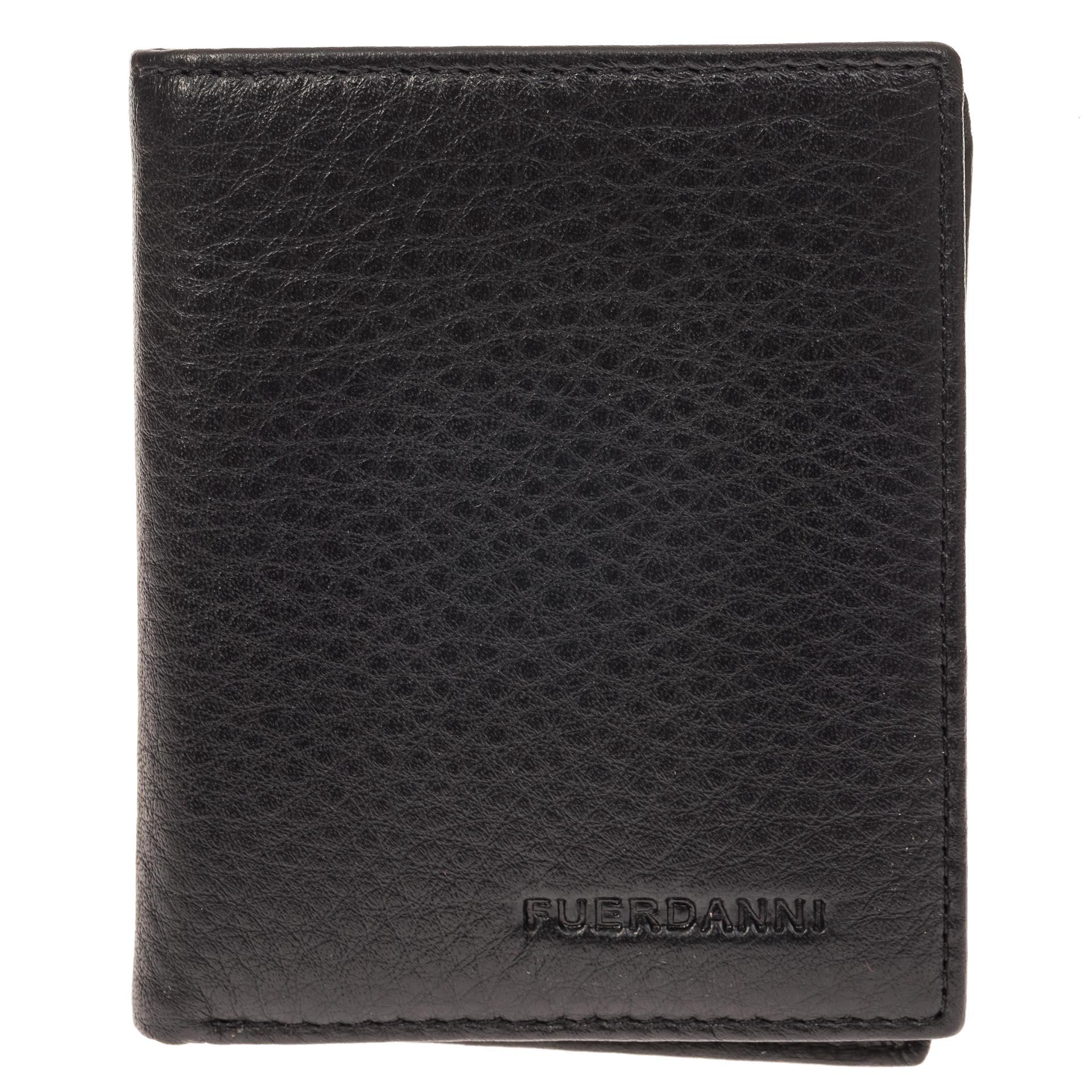 На фото 1 - Мужской кошелек-портмоне из натуральной кожи